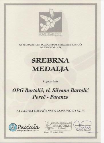 Nagrada Paicusa Pisak 2018 a