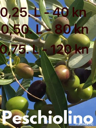 ekstra djevicansko maslinovo ulje bartolic peschiolino